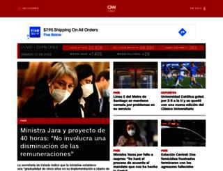 cnn.cl screenshot