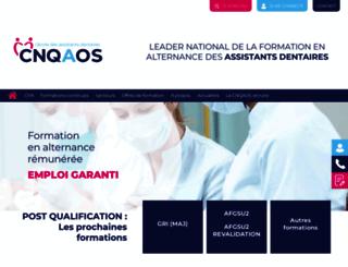 cnqaos.fr screenshot
