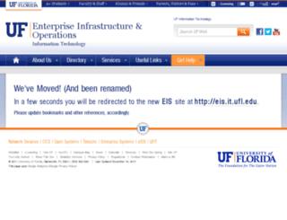 cns.ufl.edu screenshot