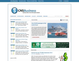 cnsbusiness.com screenshot