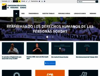 cnse.es screenshot
