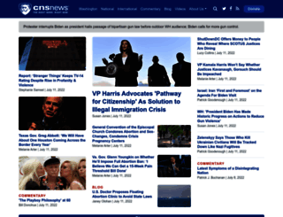 cnsnews.com screenshot