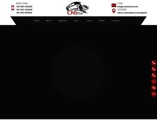 cnsrentacar.com screenshot