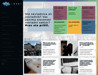 cnvos.si screenshot