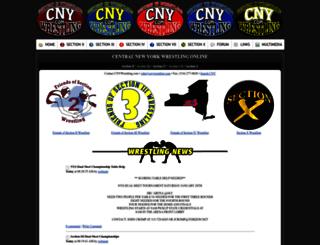 cnywrestling.com screenshot