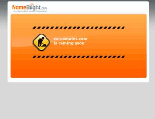 co-domains.com screenshot