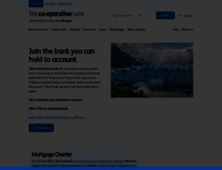 co-operativebank.co.uk screenshot