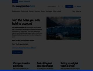 co-operativebankinggroup.co.uk screenshot