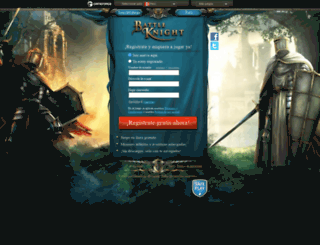 co.battleknight.org screenshot