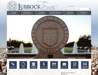 co.lubbock.tx.us screenshot