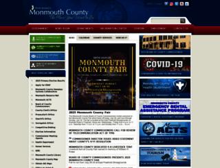 co.monmouth.nj.us screenshot