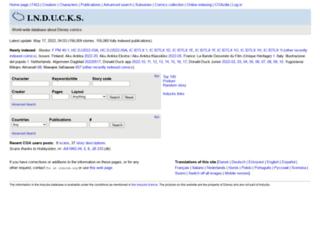 coa.inducks.org screenshot