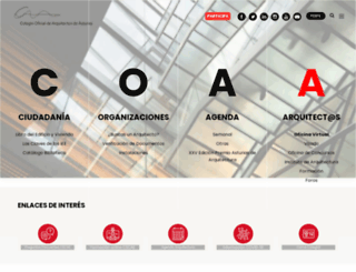 coaa.es screenshot