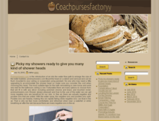 coach-pursesfactoryy.net screenshot