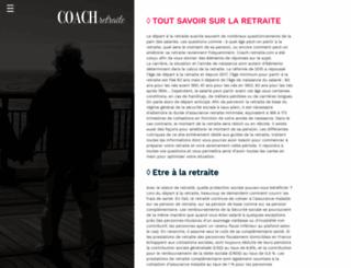 coach-retraite.com screenshot