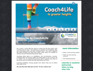 coach4life.co.za screenshot