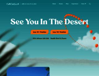 coachella.com screenshot