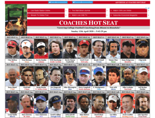 coacheshotseat.com screenshot