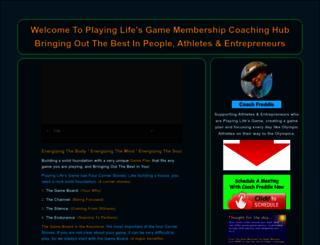 coachfreddie.com screenshot