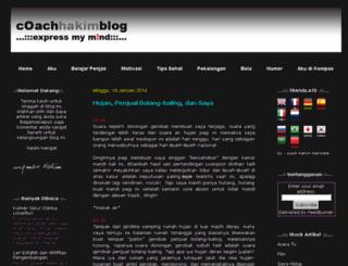 coachhakim.blogspot.com screenshot