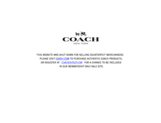 coachhandbagscanada.com screenshot