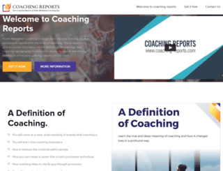 coaching-reports.com screenshot