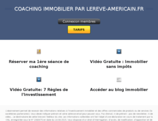 coaching.lereve-americain.fr screenshot