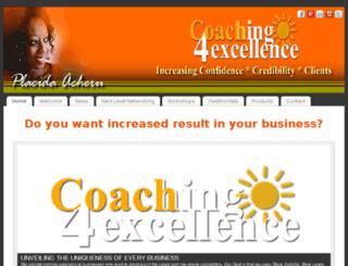 coaching4excellence.com screenshot