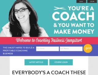 coachingbusinessjumpstart.com screenshot