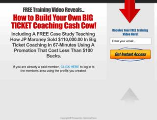 coachingcashcow.com screenshot