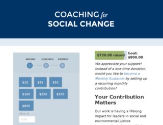 coachingforsocialchange.nationbuilder.com screenshot