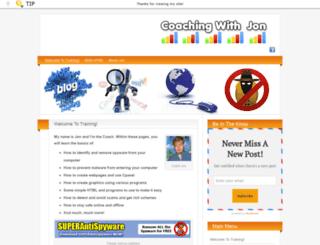 coachingwithjon.com screenshot