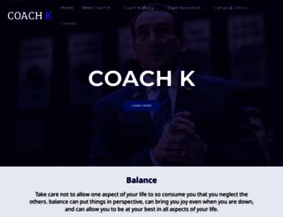 coachk.com screenshot