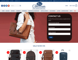 coachmanluggage.co.za screenshot