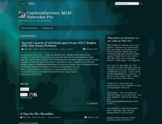 coachronforrester.wordpress.com screenshot