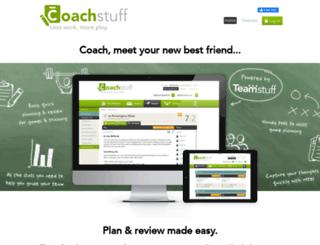 coachstuff.com screenshot