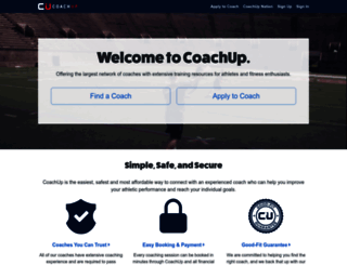 coachup.com screenshot