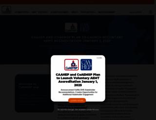 coaemsp.org screenshot