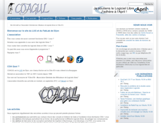 coagul.org screenshot