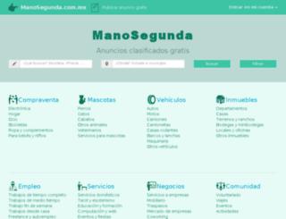 coahuila.manosegunda.com.mx screenshot