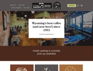 coalcreekcoffee.com screenshot