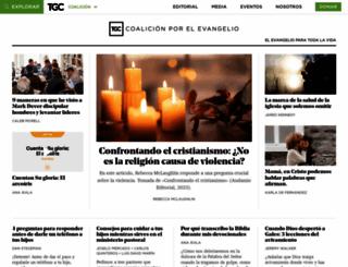 coalicionporelevangelio.org screenshot
