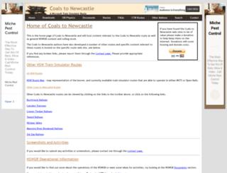 coalstonewcastle.com.au screenshot