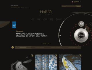 coarse.hardyfishing.com screenshot