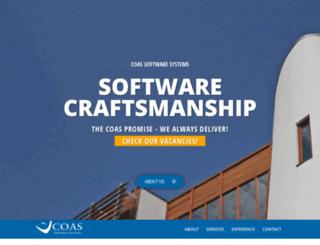 coas.com screenshot