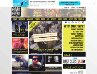 coast2coastmixtapedjs.com screenshot