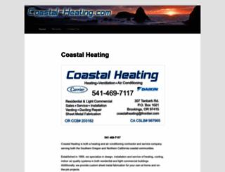 coastal-heating.com screenshot