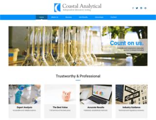 coastalanalytical.com screenshot
