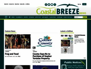 coastalbreezenews.com screenshot
