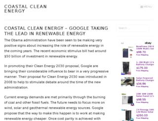 coastalcleanenergy.com screenshot
